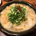 炊き餃子と麺 虎鉄 - 白炊き餃子