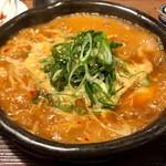 炊き餃子と麺 虎鉄 - 赤炊き餃子