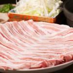 十八番 - 12月コース 豚しゃぶ