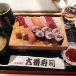 大番寿司 - ランチ握り¥800-