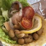 レストラン Ari - サーモンのピアディーナ