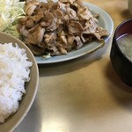 77642217 - 生姜焼き定食