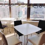 阿波踊り&ミュージック Cafe&Barコティ - 窓際席♬徳島駅を一望できる一望!