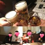 77644413 - 乾杯&本日のメンバー