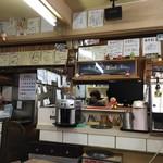 南蛮酊 - 色紙の飾られた厨房