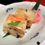 77644730 - 海老押し寿司