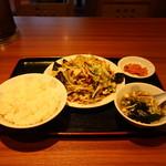 古寿茂 - 肉野菜炒め定食