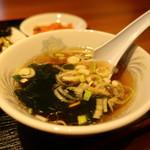 古寿茂 - わかめとねぎのスープアップ