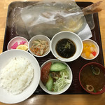 浜の家 - クルキンマチ(ヒメダイ)のバター焼き 1800円(税抜)