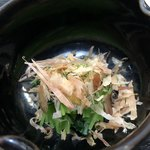 季節料理 藤 - 三つ葉のお浸し
