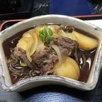 季節料理 藤 - 牛肉とジャガイモ煮