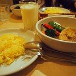 スープカレー syukur - 豚の角煮のスープカレー