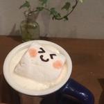 77649360 - ほうじ茶ラテ