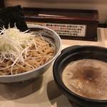 つけ麺 京都わたなべ - つけ麺(中)太麺、魚介Maxスープ