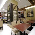 リンツ ショコラ カフェ - 店内カフェ