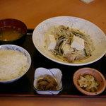 竹ちゃん - お弁当 塩チャンプル