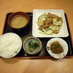 竹ちゃん - お弁当 ホイコーロー