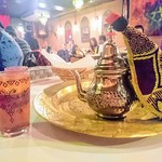 77651965 - 最後はモロッコの紅茶かなぁ?を出してくださいました