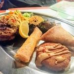 モロッコ料理カサブランカ - オードブルの盛り合わせ