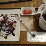 カフェ トントン - ワッフルとサイフォンコーヒー