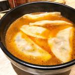 餃子部 - 辛スープ餃子