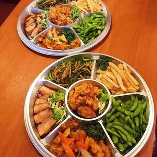 ◆テイクアウトも大好評♪オードブル、会議用お弁当承ります♪◆