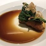 アニエルドール - 鮮魚 エビ 鶏 ホウレン草
