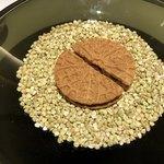 アニエルドール - 蕎麦粉の生地のゴーフレット