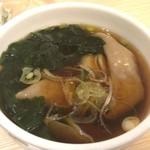 四谷 政吉 - 蕎麦餃子280円