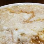 麺工 豊潤亭 - 真っ白(笑)