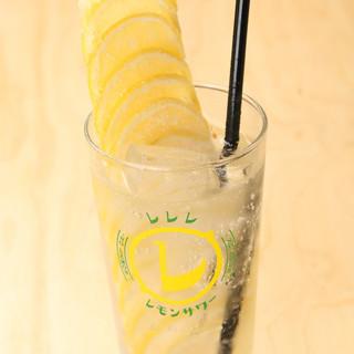 こだわりのマルカツ特製レモンサワーは全部で6種類!!