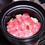 USHIGORO S - 田村牛ザブトンとトリュフの土鍋ご飯