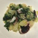 クラッティーニ - 蛸とジャガイモのペペロンチーノ