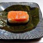 77659798 - 柿の葉寿司・鮭