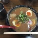 77659926 - 中華そば¥600+煮卵