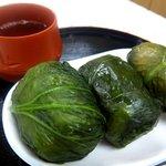 湯の峰温泉 売店・食堂 - 料理写真:めはりずし