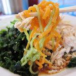 とんこつ亭 - 三色麺