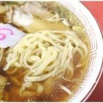 源来軒 - 麺はやっぱりプリプリ♪