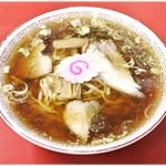 源来軒 - 料理写真:ラーメン 650円 喜多方ラーメンというよりジャパニーズラーメンて感じです。