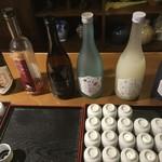 田中酒造 亀甲蔵 - こんなに試飲!