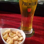 Spanish Bar Pasion -         Beer  と お通し