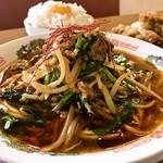 大盛 満腹 食堂 まんが喫茶はなこ - 【期間限定】台湾拉麺