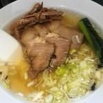 77669218 - 焼豚麺&カレーセット¥1,350 の焼豚麺