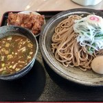 鳴門 - つけ麺(大)半熟味玉960円