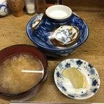 天ぷら 中山 - 蓋つきの丼が美しい