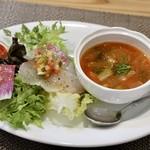 トラットリア ラ ロッカ - 前菜2種盛合せ