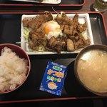 月光食堂 - 豚バラ焼き定食@780円