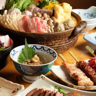 職人の自慢料理がたっぷり愉しめるコースは税サ込5,000円~