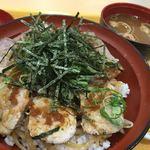 豊浜サービスエリア下り線 スナックコーナー・フードコート - オリーブ豚のローストポーク丼