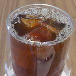 ドウモカフェ - 今回はアイスをセレクトしてみましたが、ホットコーヒーのチョイスも可能です。